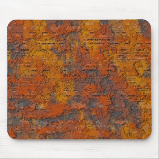 Heavy Rust Mouse Pad