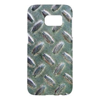 Heavy Silver Industrial Metal Samsung Galaxy S7 Case