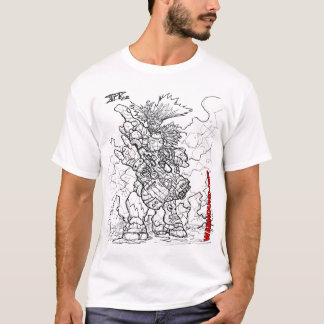 Heavy Space Armor Pirate Soldat T-Shirt