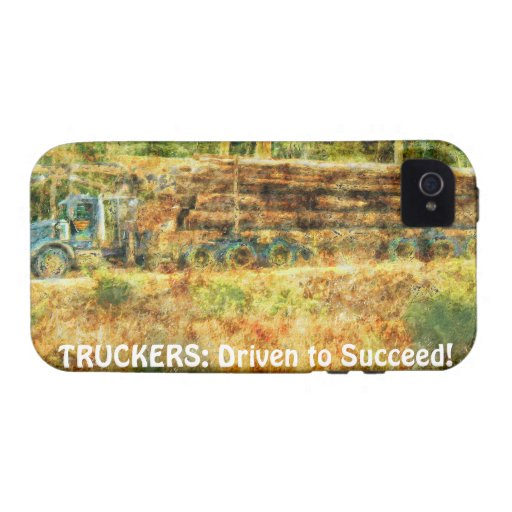 Heavy Transport Logging Truck Driver iPhone 4 Case