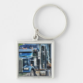 Heavy Transport Truck Art for Lorry Drivers Key Chains
