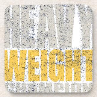 Heavy weight coaster