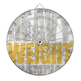 Heavy weight dartboard