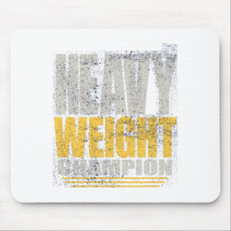 Heavy weight mouse pad