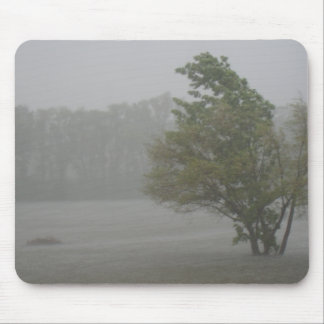 Heavy Windy Storm over a already Flooded Lake Mouse Pad