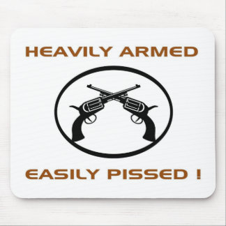 heavyarmed mouse pad