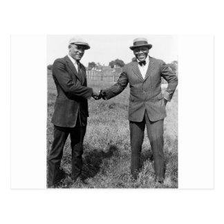Heavyweight Boxers, 1922 Postcard