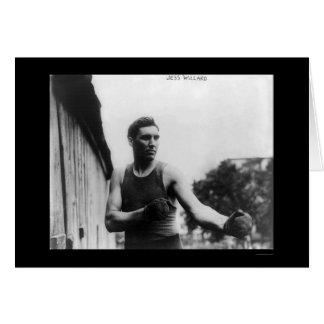Heavyweight Champ Jess Willard Boxing 1915 Card