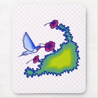 Heba Hummingbird Mouse Pad