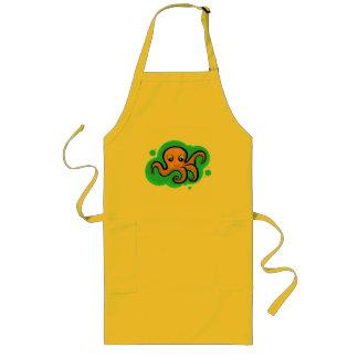 Heba the Octopus Character Long Apron