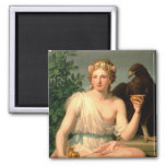 Hebe, 1784 2 inch square magnet