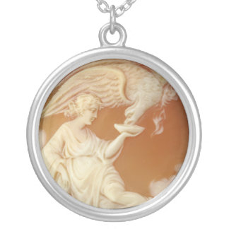 Hebe and The Eagle Cameo Necklace