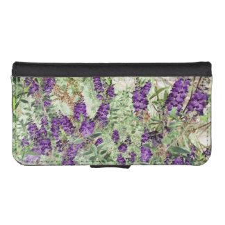 Hebe Lavender phone wallet case