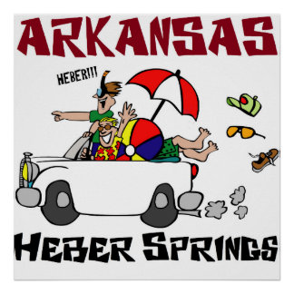 Heber Springs Arkansas Poster