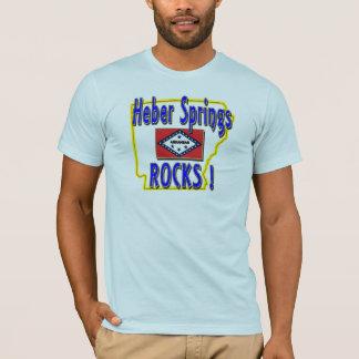Heber Springs Rocks ! (blue) T-Shirt