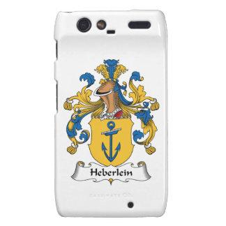 Heberlein Family Crest Motorola Droid RAZR Cases