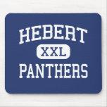 Hebert - Panthers - High School - Beaumont Texas Mouse Mats