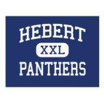 Hebert - Panthers - High School - Beaumont Texas Post Card