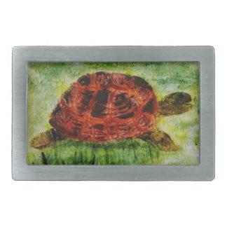 Hebilla animal del arte de la tortuga hebillas cinturon rectangulares