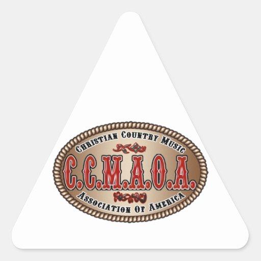 Hebilla de CCMAOA Pegatina Triangular