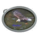 Hebilla de correa del águila calva hebillas de cinturon