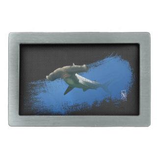 Hebilla de correa del tiburón de Hammerhead Hebillas De Cinturón Rectangulares