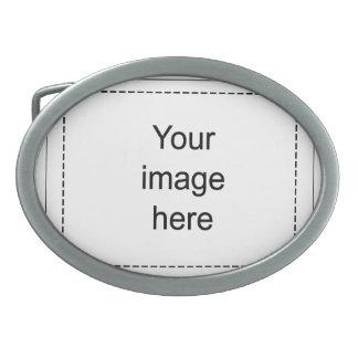 Hebilla de encargo de plantilla en blanco hebillas cinturón