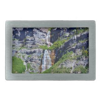 Hebilla de la cascada #1a- de Utah (rectángulo o Hebillas Cinturón Rectangulares