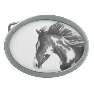 Hebilla del caballo del Pinto Hebillas De Cinturon