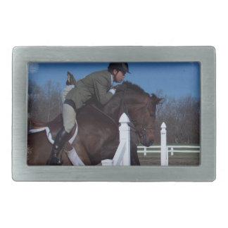 Hebilla del caballo del puente del cazador hebillas cinturon rectangulares