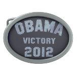 Hebilla del cinturón 2012 de la victoria de Obama Hebilla Cinturón