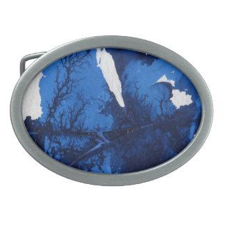 Hebilla del cinturón abstracta del diseño hebilla de cinturón