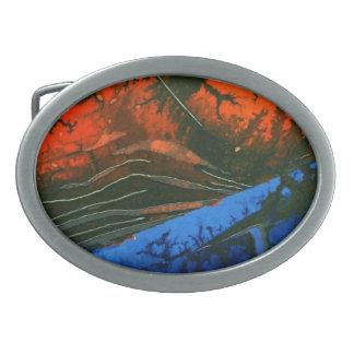 Hebilla del cinturón abstracta del diseño hebillas cinturón