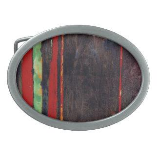 Hebilla del cinturón abstracta hebilla de cinturón oval