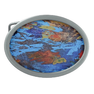 Hebilla del cinturón abstracta hebillas cinturón ovales