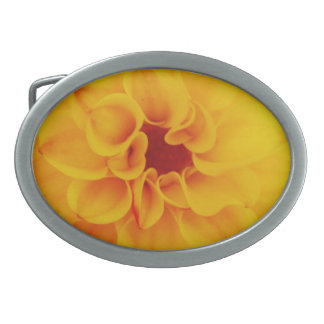 hebilla del cinturón amarilla de la flor de la dal hebilla de cinturón