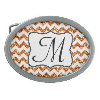 Hebilla del cinturón anaranjada moderna del hebillas cinturón ovales
