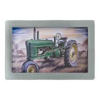 Hebilla del cinturón antigua del tractor