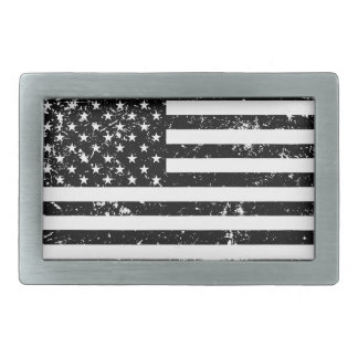 Hebilla del cinturón apenada de la bandera hebillas cinturon rectangulares