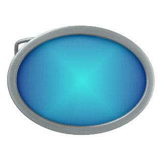 Hebilla del cinturón azul de Aqua> Hebillas De Cinturon Ovales
