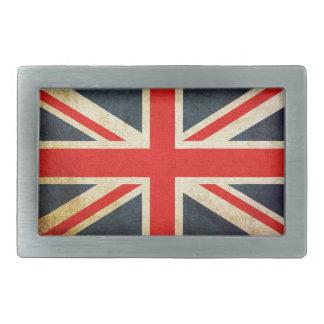 Hebilla del cinturón británica apenada de la bande hebillas de cinturón rectangulares