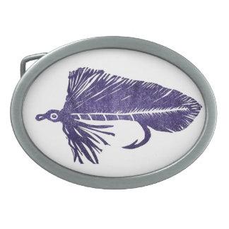 """Hebilla del cinturón clásica """"Matuka púrpura """" de Hebilla De Cinturón Oval"""
