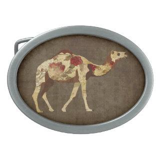 Hebilla del cinturón color de rosa del camello hebillas cinturón