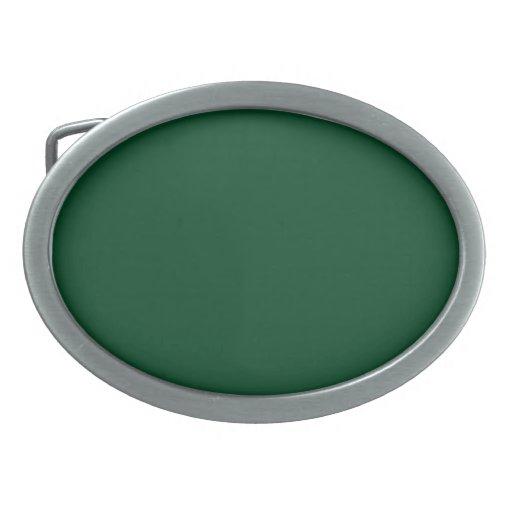 Hebilla del cinturón con el fondo verde imperecede hebillas de cinturon