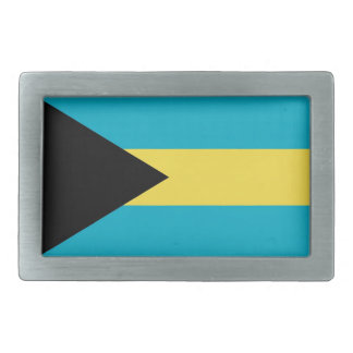 Hebilla del cinturón con la bandera de Bahamas Hebilla De Cinturon Rectangular