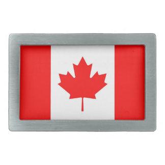 Hebilla del cinturón con la bandera de Canadá Hebillas Cinturon Rectangulares