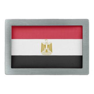Hebilla del cinturón con la bandera de Egipto Hebilla Cinturón Rectangular
