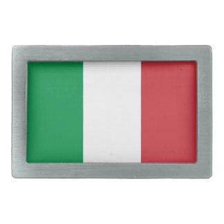 Hebilla del cinturón con la bandera de Italia Hebillas Cinturon Rectangulares
