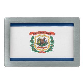 Hebilla del cinturón con la bandera del estado de hebilla cinturon rectangular