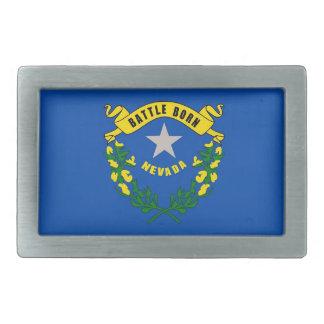 Hebilla del cinturón con la bandera del estado de hebilla cinturón rectangular